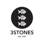 Three Stones 3 fish logo