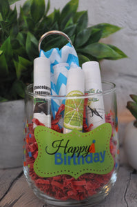 Happy Birthday Chapstick Gift Set - Everyday Essential Oil