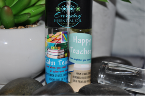 Happy Teacher & Calm Teacher Roller Set - Everyday Essential Oil