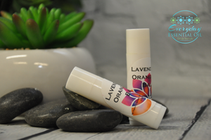 Lavender Orange Chapstick - Everyday Essential Oil