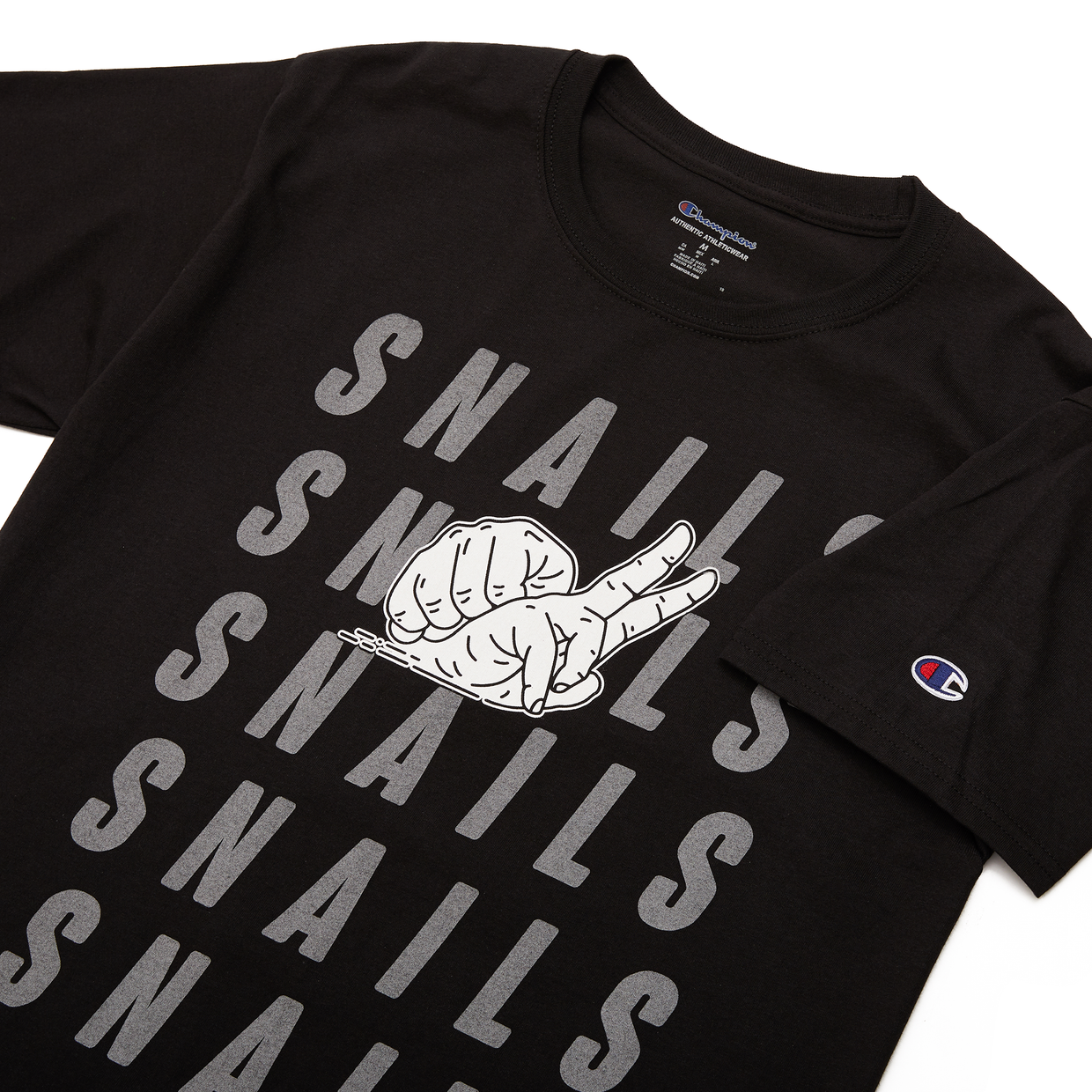 Snails x Champion Reflective Tee
