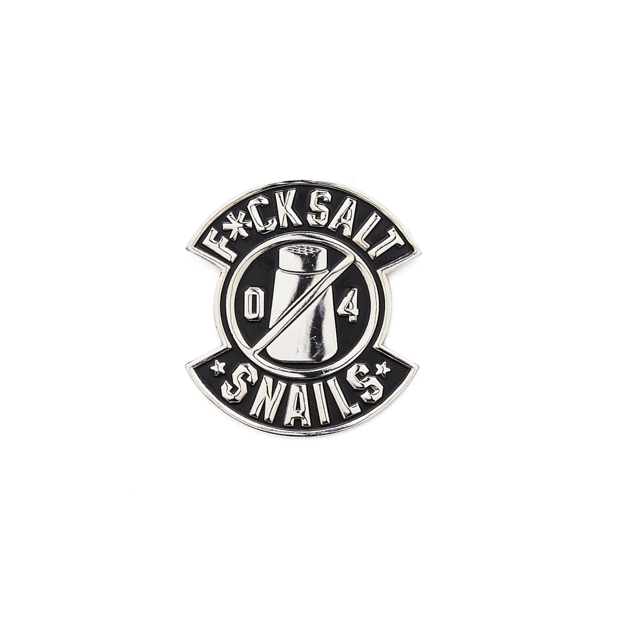 'F*ck Salt' Enamel Pin