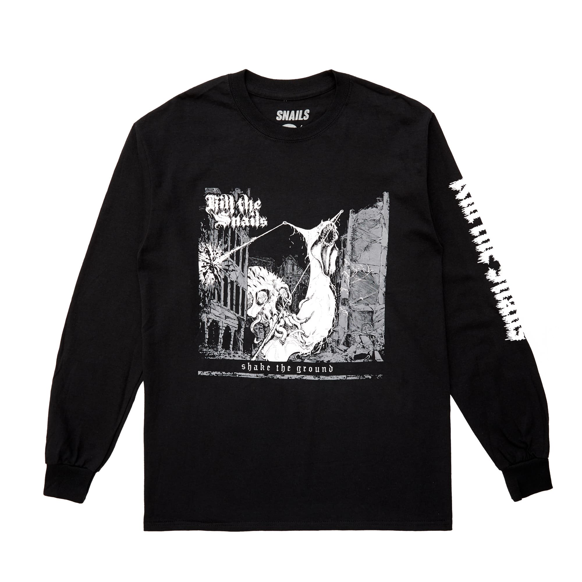 'Kill The Snails' Long Sleeve Tee