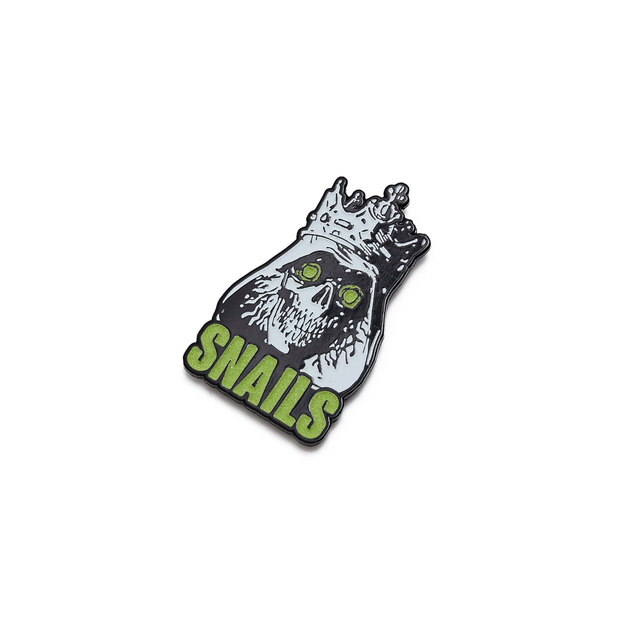 'King' Enamel Pin