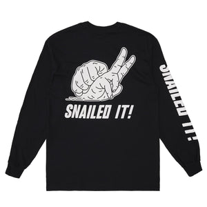 Snailed It Long Sleeve Tee