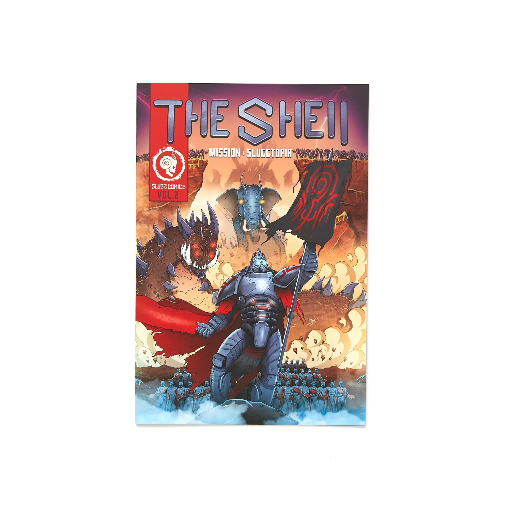 'The Shell' Comic Book - Vol 2