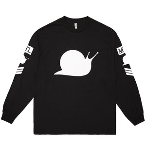 'Vomitstep' Long Sleeve Tee - Black