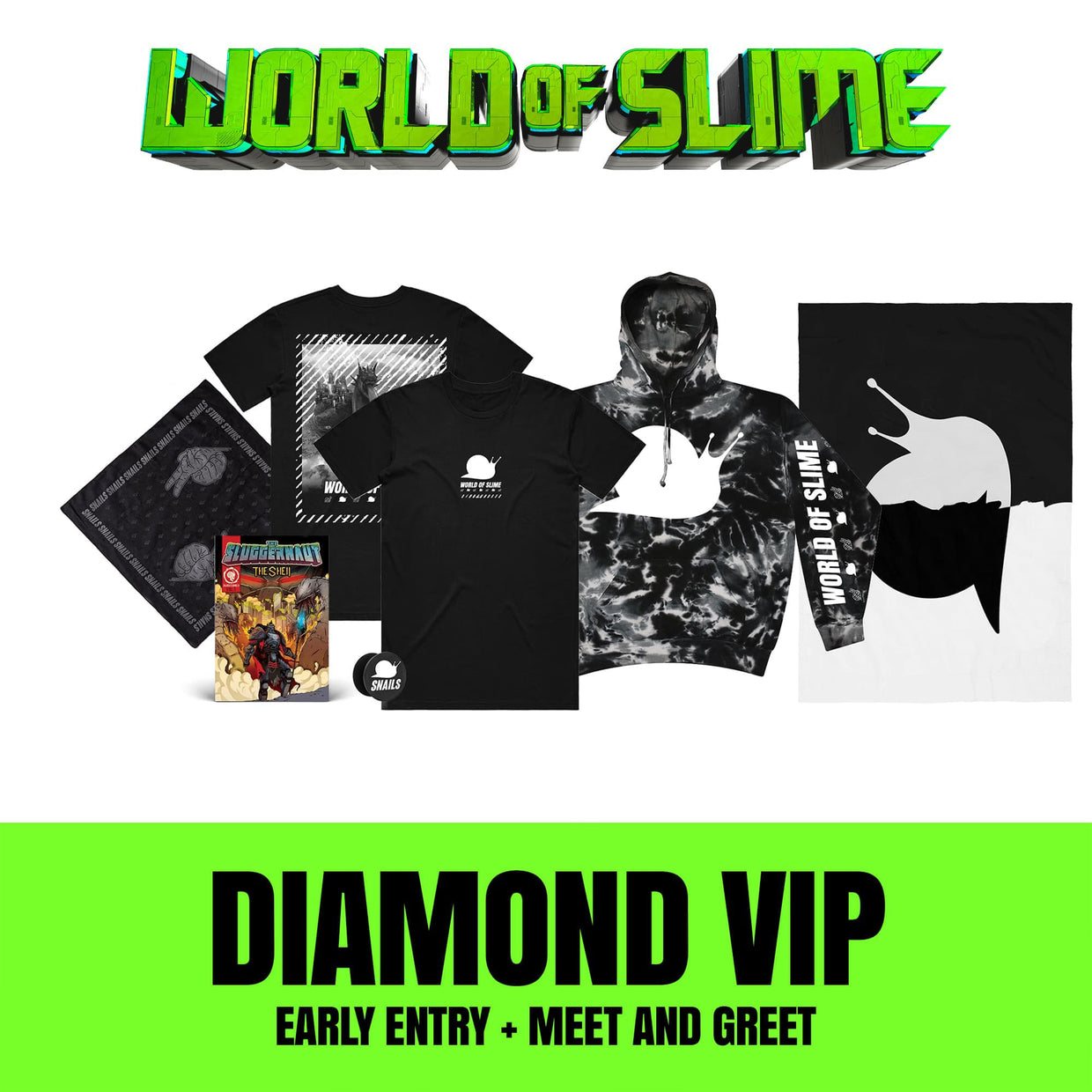 World Of Slime Tour - Los Angeles - 11/16 - VIP UPGRADE