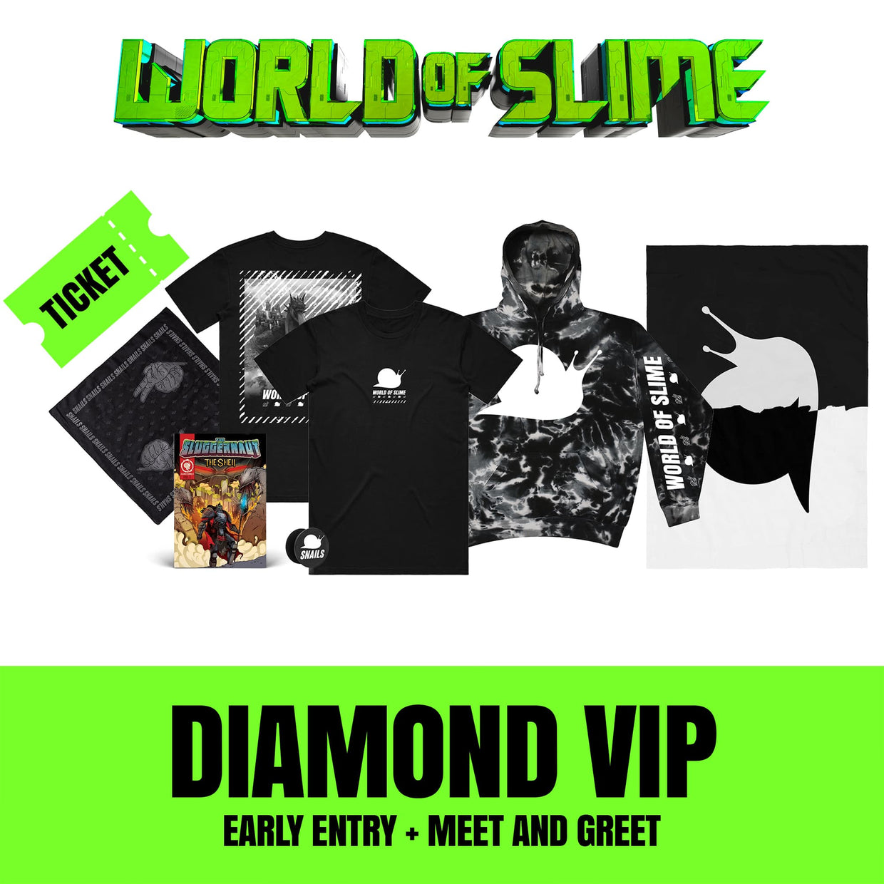 World Of Slime Tour - Tacoma, WA - 11/09