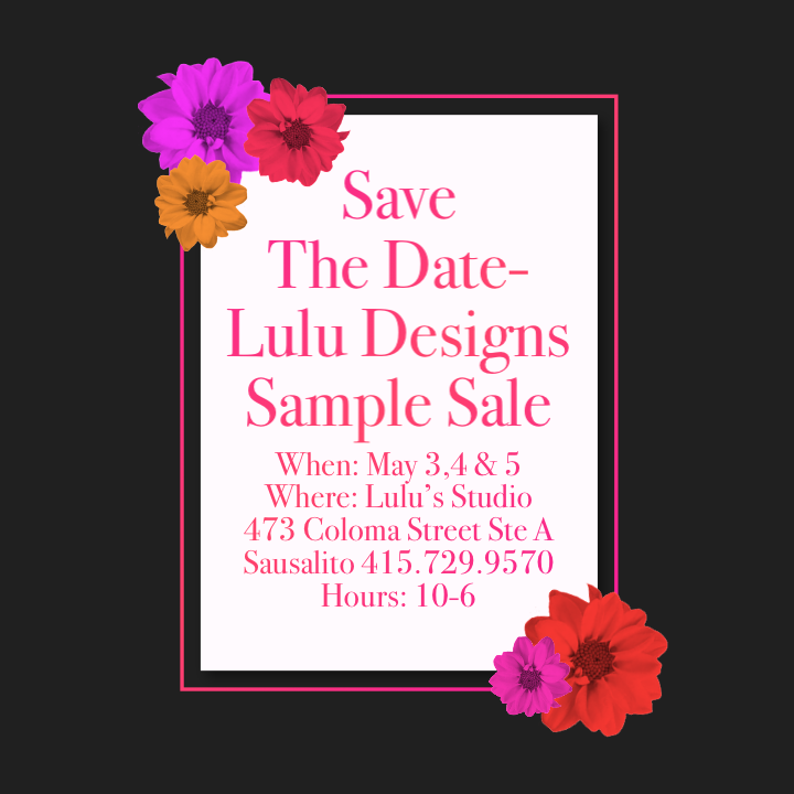 Spring Sample Sale