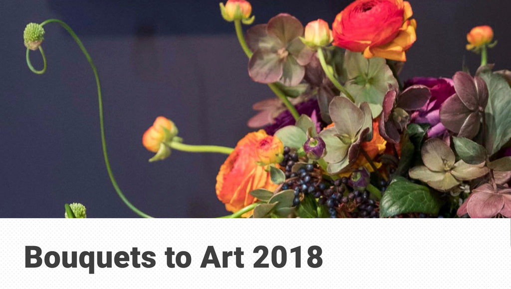 Bouquets to Art 2018 at the deYoung Museum