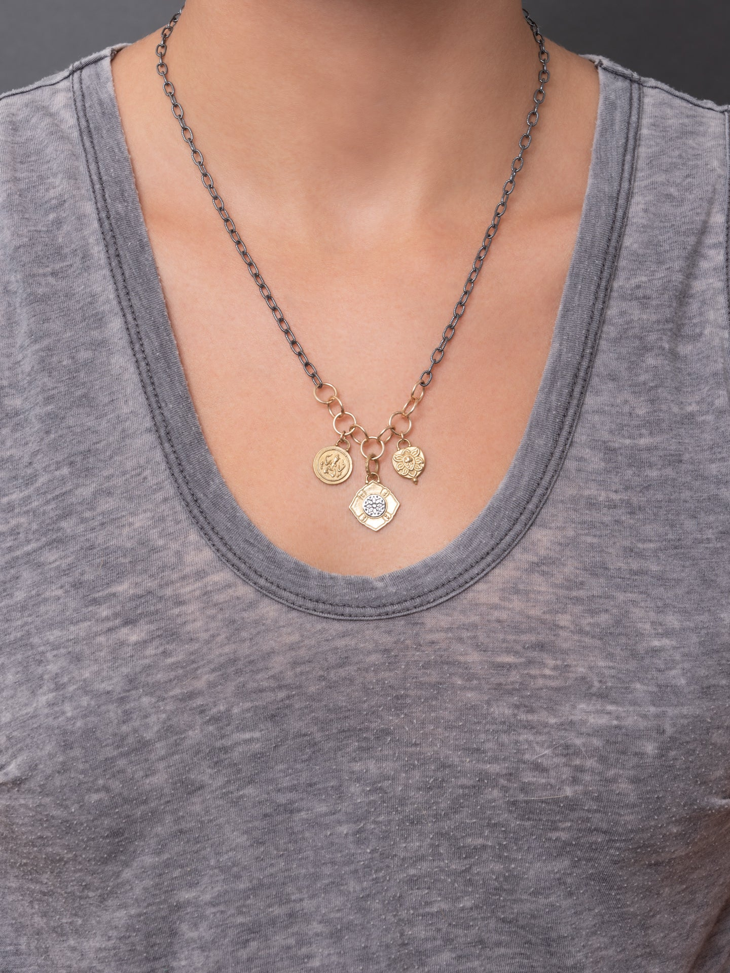 "Akasha Necklace - Meta ""cultivate kindness"""