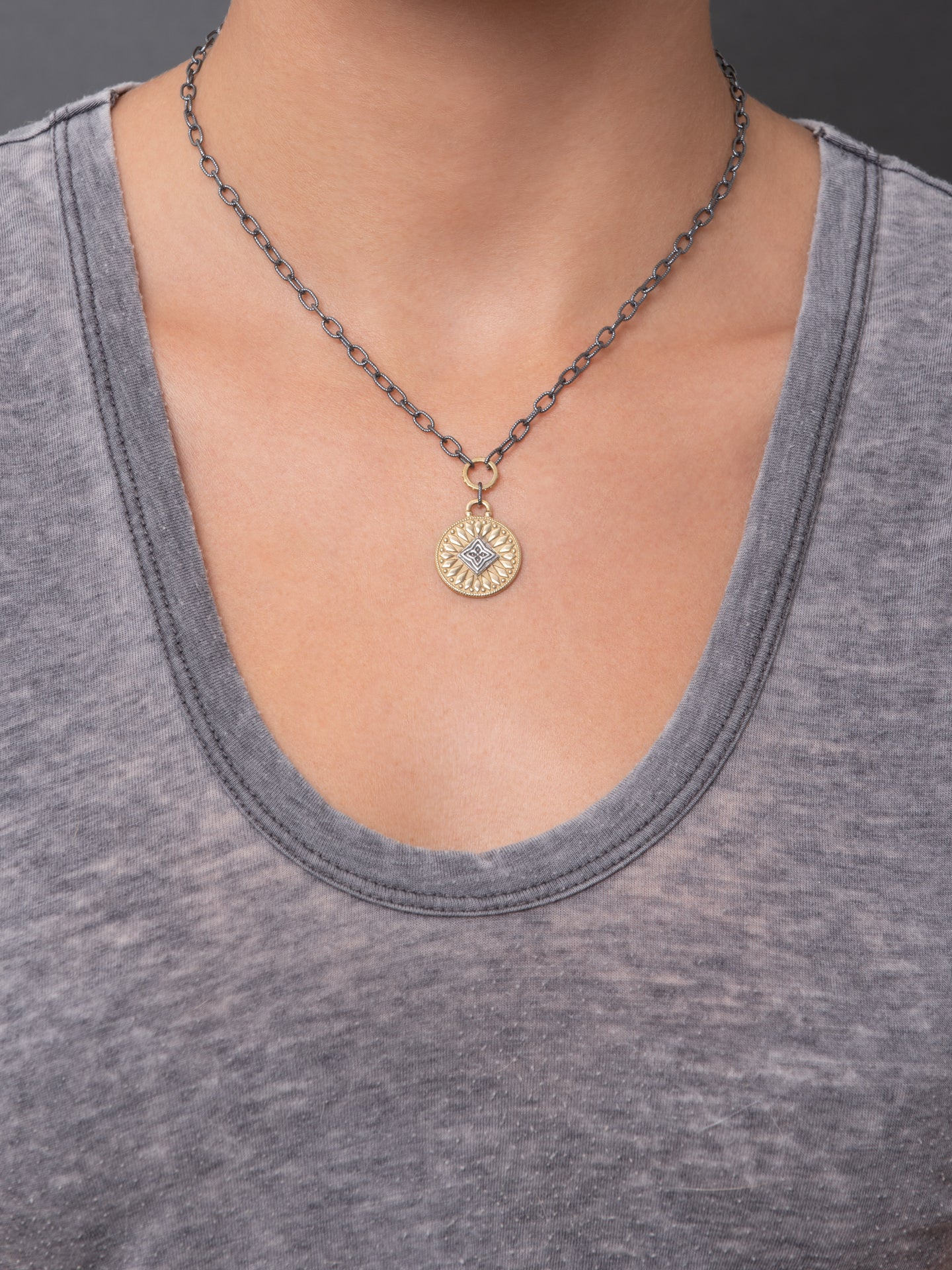 "Channel Necklace - Surya ""radiate energy"""