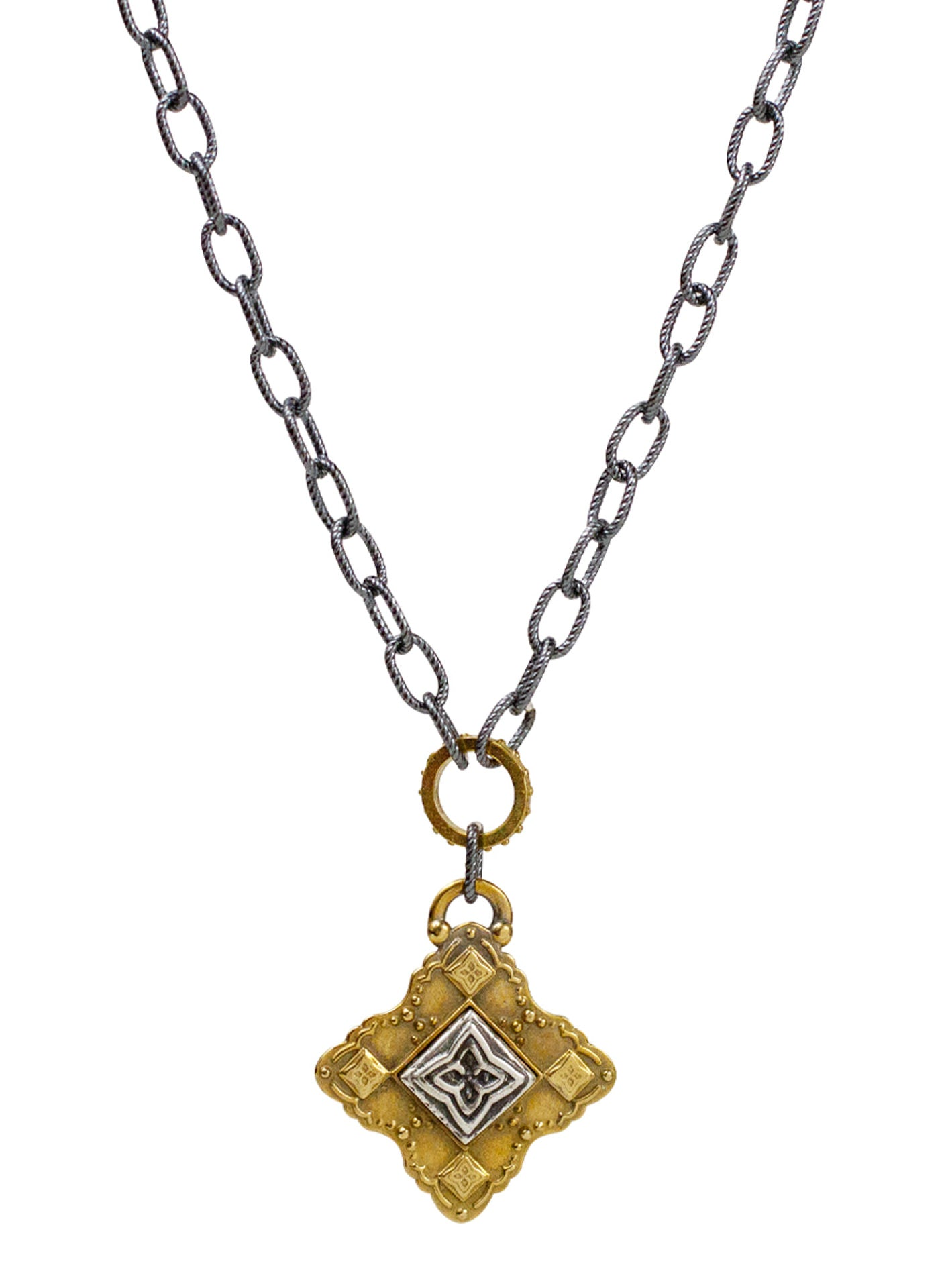 "Channel Necklace - Samadhi ""cosmic consciousness"""