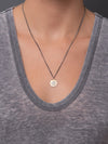 "Manifest Necklace - Dhyana ""seek your center"""