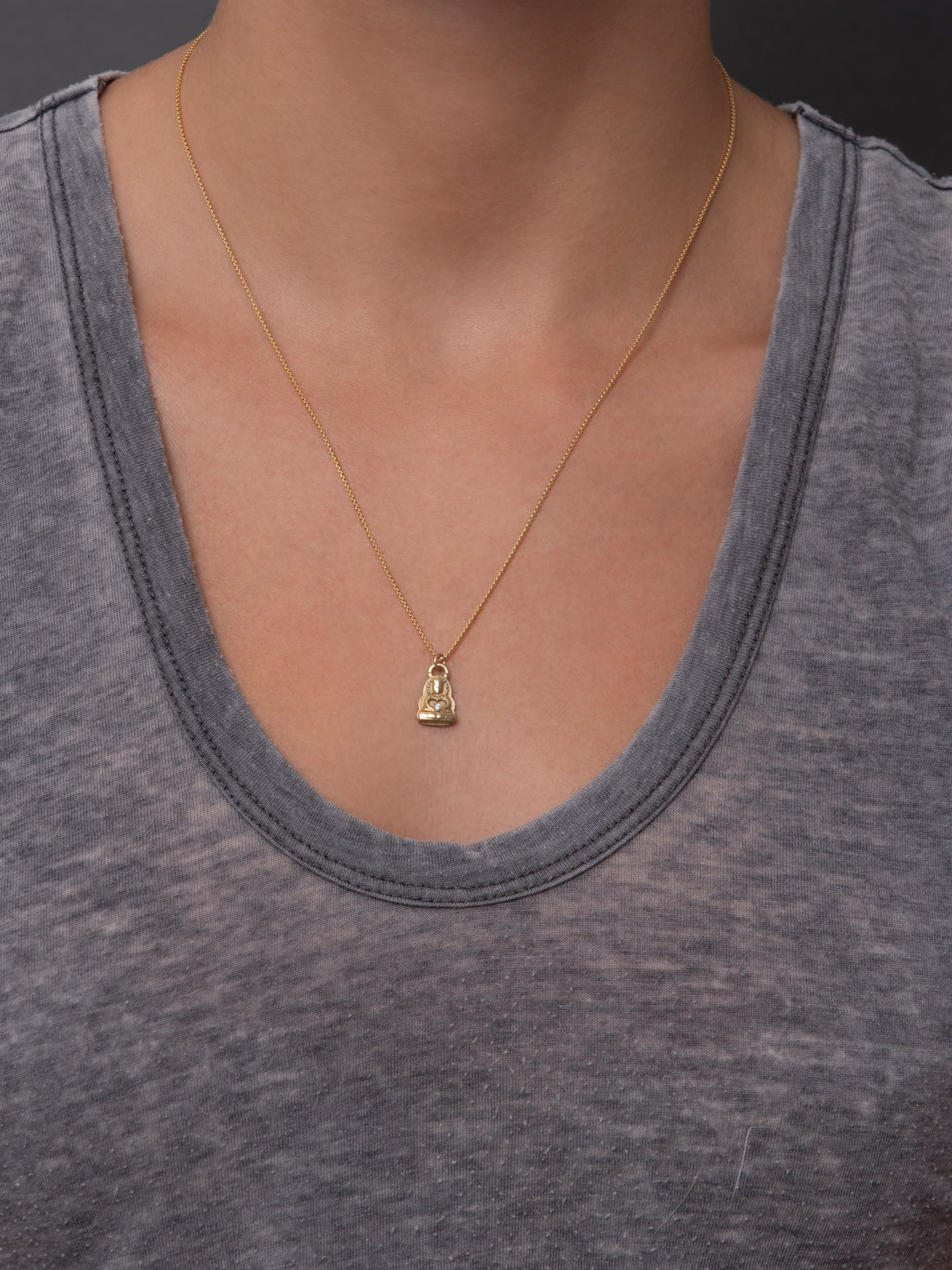 "Tara Necklace ""be good company"""