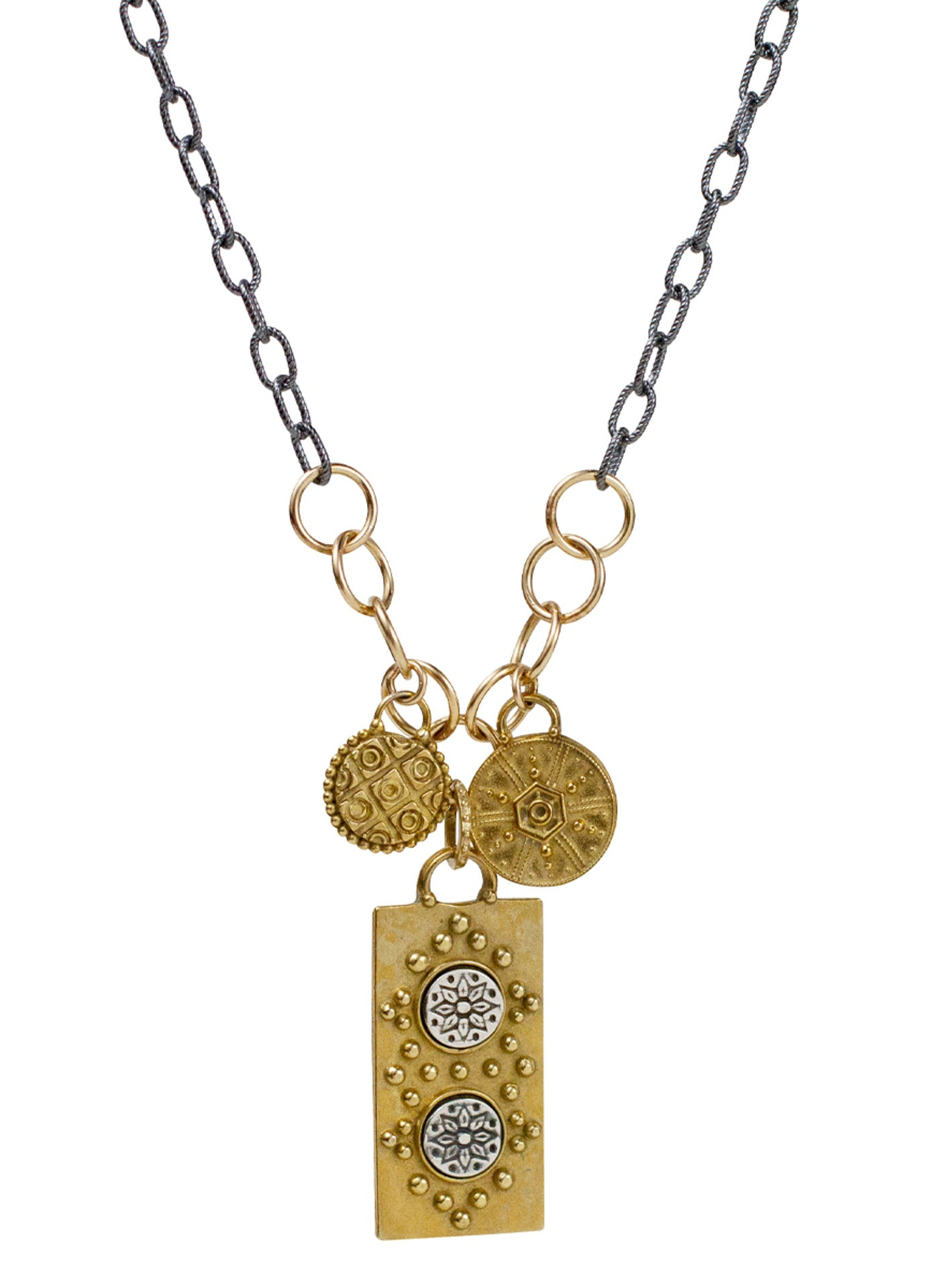 "Akasha Necklace - Mantra ""manifest your destiny"""