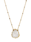 2020 Atlantis Necklace 14k Gold Fill Moonstone