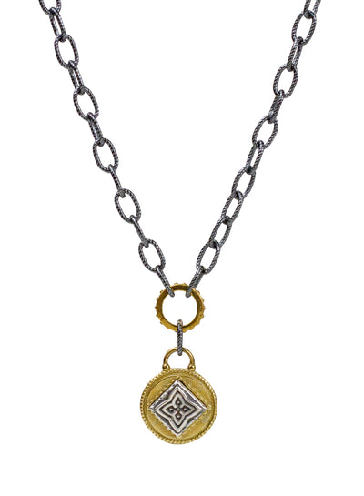 "Channel Necklace - Siddha ""raise your frequency"""