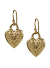"Coeur Earrings ""shine from within"""