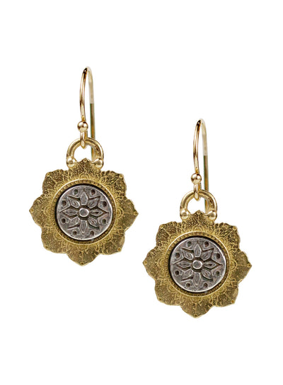 "Dhyana Earrings ""seek your center"""