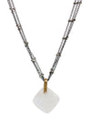 2020 Lulu Designs Hera Necklace Oxidized Sterling Silver Moonstone