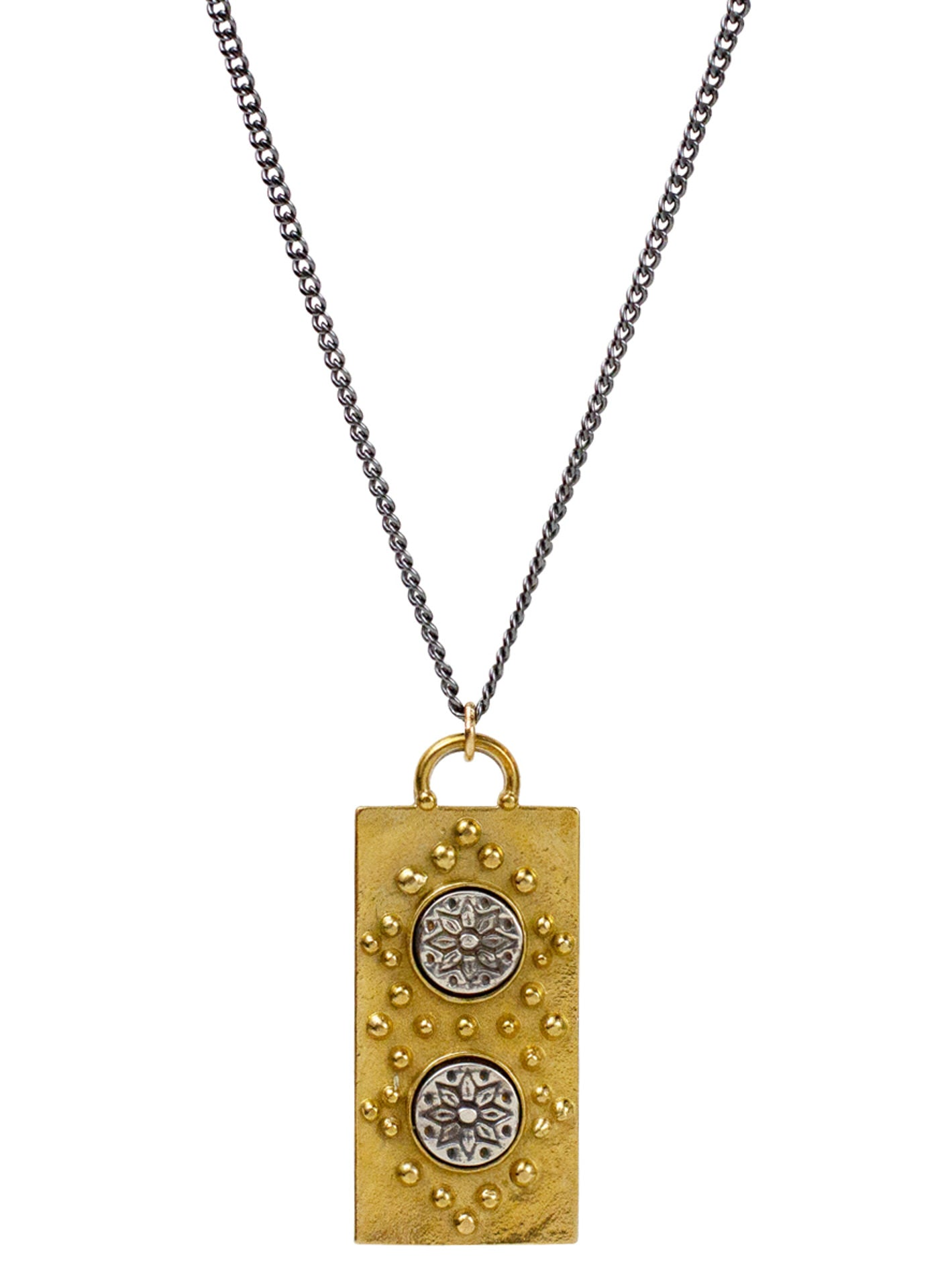 "Manifest Necklace - Mantra ""manifest your destiny"""