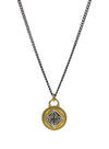 "Manifest Necklace - Siddha ""raise your frequency"""