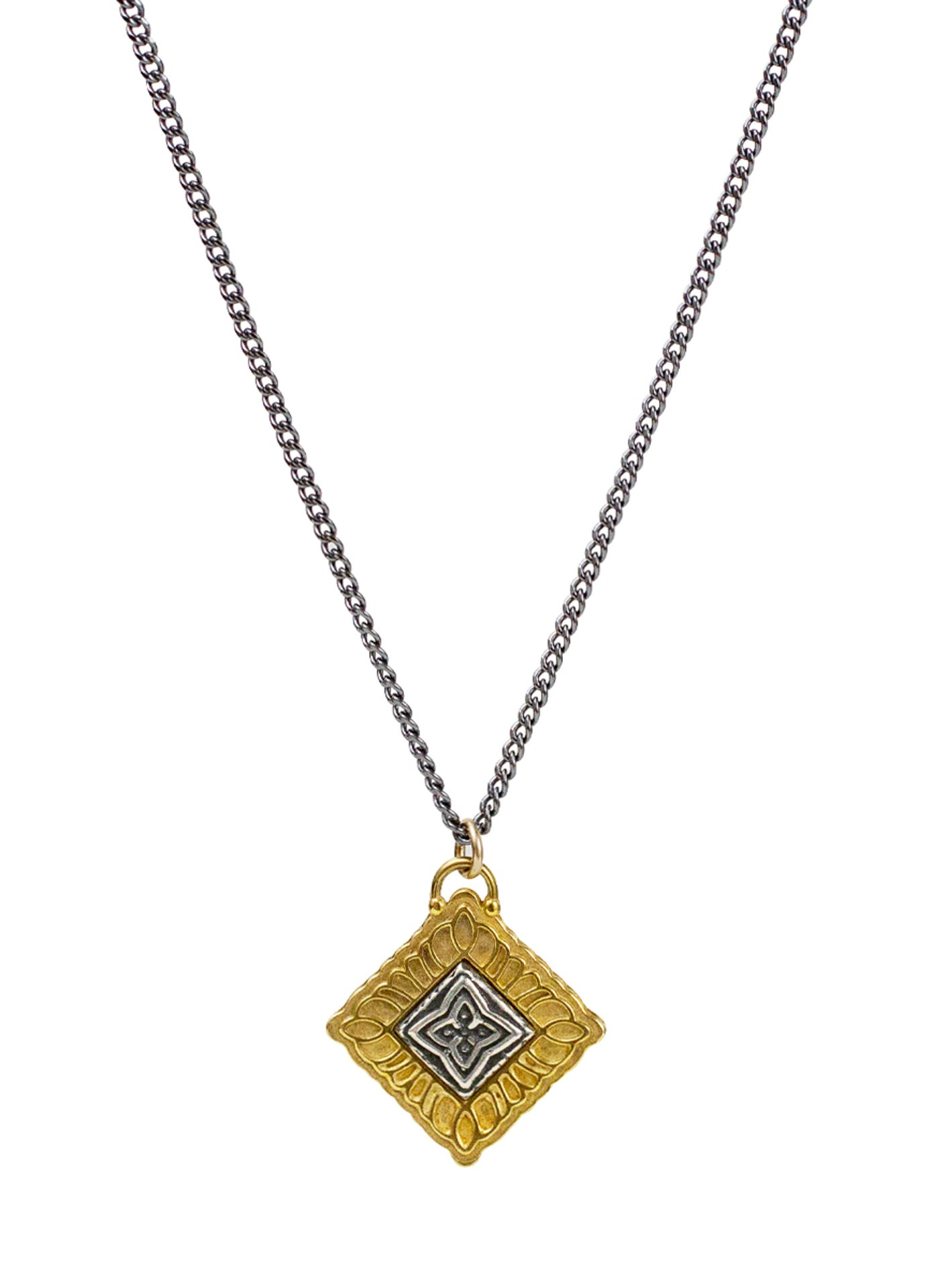 "Manifest Necklace - Sutra ""evolve your mind"""