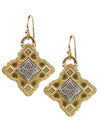 "Samadhi Earrings ""cosmic consciousness"""
