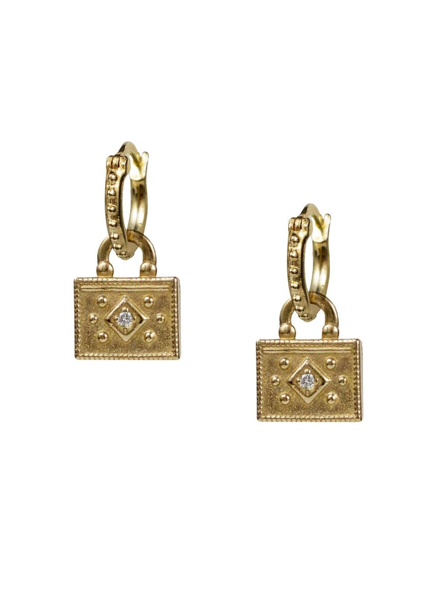 "Nadi Earrings ""channel inner strength"""