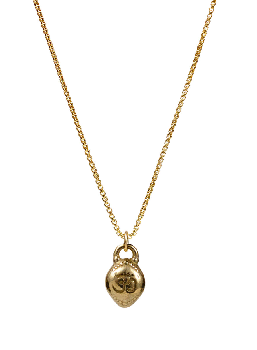 "Om Necklace ""oneness with all"""
