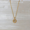 14K Diamond Blossom Necklace