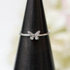 14K Diamond Petite Butterfly Ring