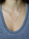 "Ajna Necklace ""ignite your inner voice"""