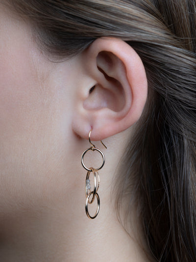 Pisces Earrings - Round