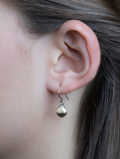 "Lotus Pod Earrings ""plant good intentions"""