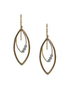 Circuit Earrings - Marquise