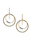 Circuit Earrings - Round