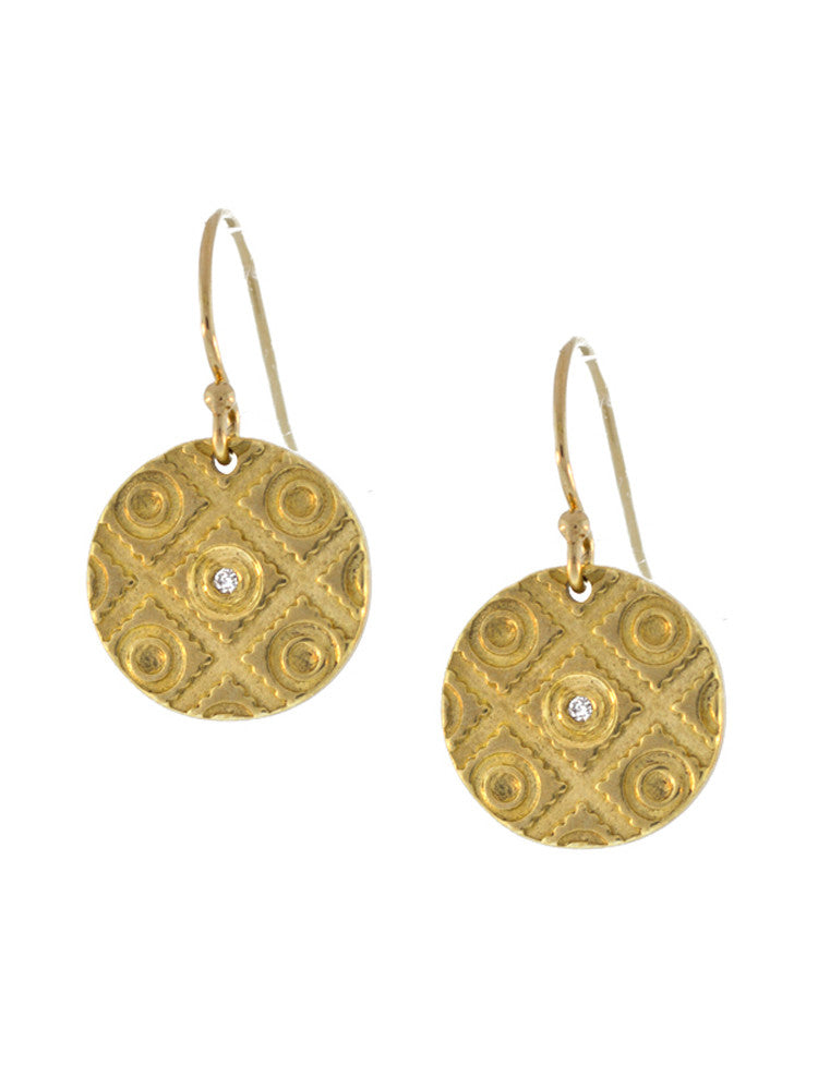"Morocco Earrings - Large ""bring life texture"""