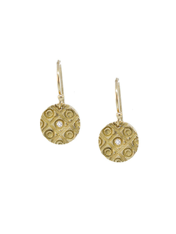 "Morocco Earrings - Small ""bring life texture"""