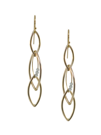Pisces Earrings - Marquise