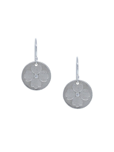 "Flynn Earrings - Small ""opportunity & luck"""