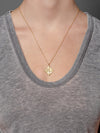 "Shiva Necklace ""be the change"""