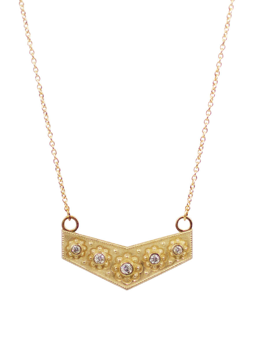 14K Anju Diamond Necklace