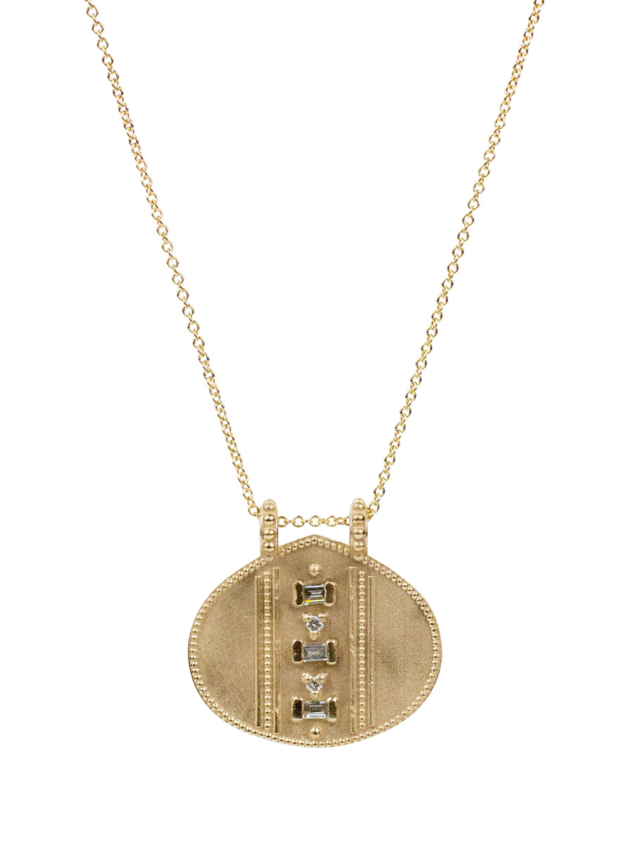 14K Cairo Diamond Necklace