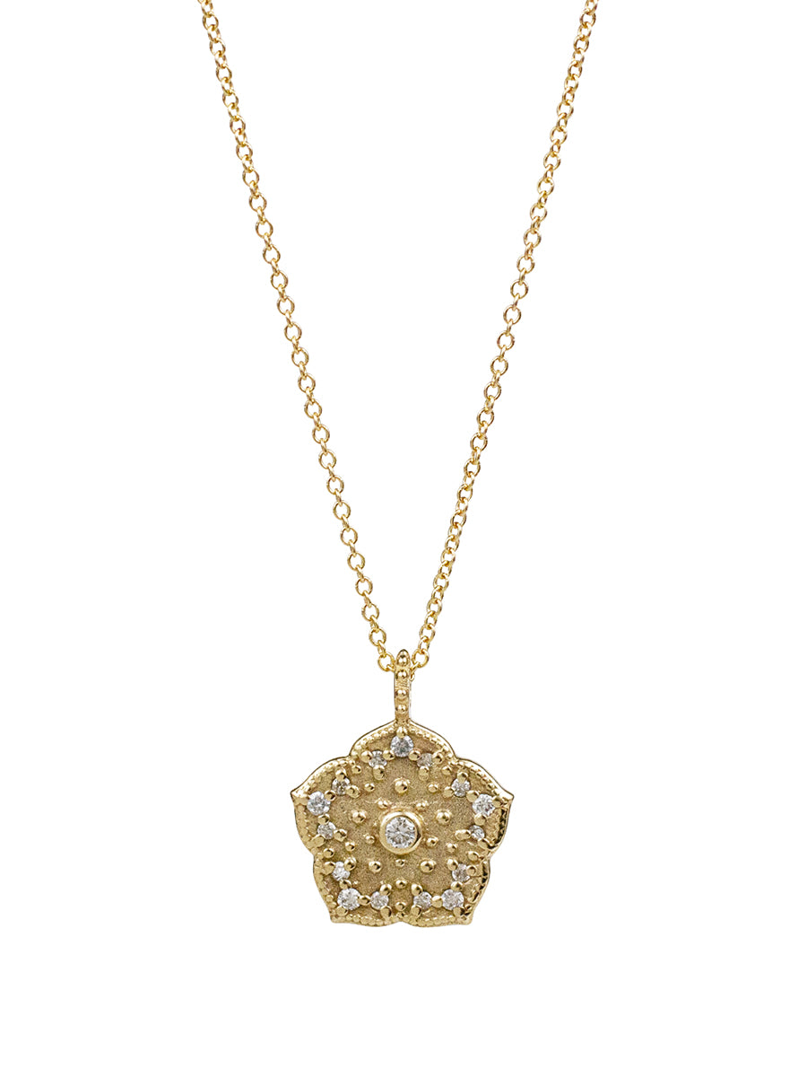 14K Kamala Diamond Necklace