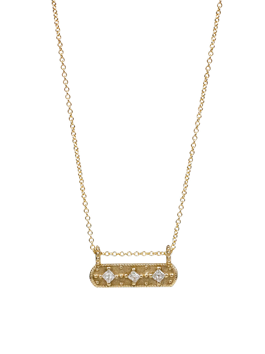 14K Kiran Diamond Necklace