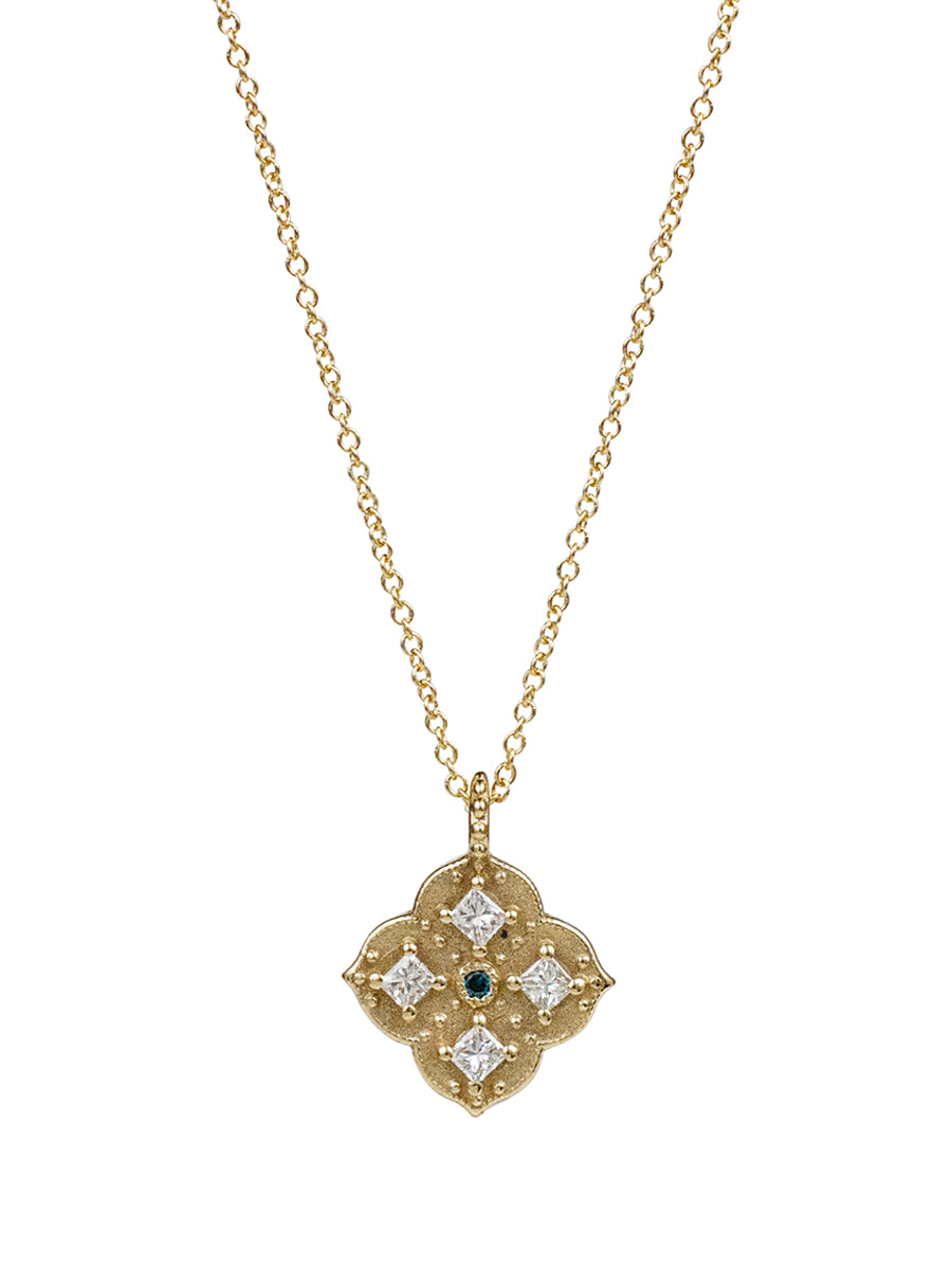14K Muse Diamond Necklace