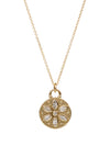 14K Padma Diamond Necklace